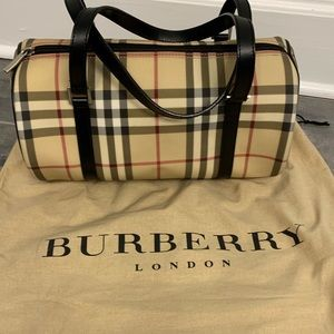 100% AUTHENTIC Burberry Roll Bag